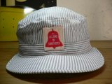 (SALE 50%OFF)COREFIGHTER/HICKORY STRIPE ARMY CAP  WHTxBLACK