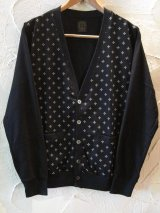 ☆50%OFF☆ A GOODTIME PRODUCTION/SUICIDAL CROSS JERSEY CARDIGAN  BLACK