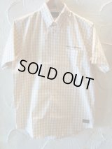 (SALE 40%OFF)COREFIGHTER/GINGHAM CHECK B.D SHIRTS  BEIGE