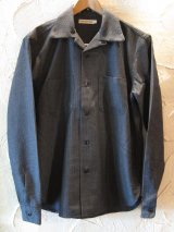 ☆SALE 50%OFF☆ STEAM AND THREAD/CAMP SHIRT WOOL  BLACK