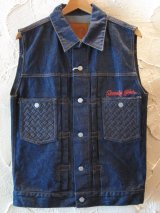 ☆SALE 50%OFF☆ SEVENTY FOUR/TYPE II DENIM VEST  INDIGO