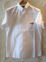 (SALE 40%OFF) SOFTMACHINE/CHESTER SHIRTS S/S  WHITE