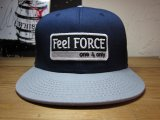 Feel FORCE/ONE&ONLY SNAPBACK  NAVYxGRAY