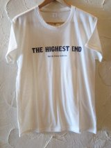 (SALE 40%OFF) THE HIGHEST END/ROLL UP TEE  WHITE