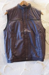 (SALE 40%OFF) COREFIGHTER/84 VEST WITH LINING  BROWN