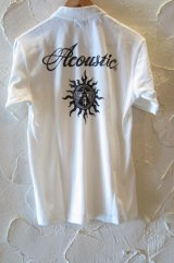 (SALE 40%OFF) ACOUSTIC/CHIEF S/S POLO WHITE