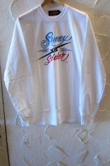 (SALE 30%OFF) SUNNY C SIDER/T.THUNDER  WHITE