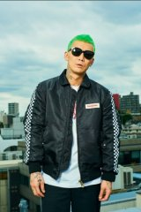 (SALE 30%OFF)SUNNY C SIDER/FLIGHT JKT  BLACK