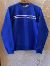 (SALE 20%OFF)WOODEN HORSE/SWEAT CREW  ROYAL
