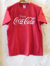 FRUIT OF THE LOOM/COLA COLA T  RED