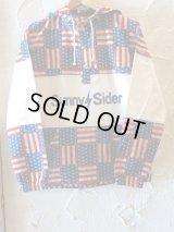 SUNNY C SIDER/FLAG SWIM JKT  OFFxNVY