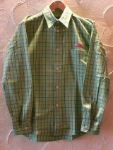☆50%OFF☆ SEVENTY FOUR/CHECKED HERRIN BORN SHIRTS GREEN