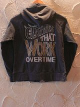 ☆70%OFF☆UNFINISH/C.T.W.O.T ZIP HOODED BLACK Ladys
