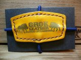 (SALE 30%OFF) GROK LEATHER/GL RUBBER  YELLOW