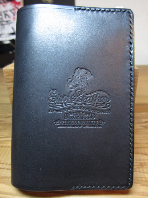 Plain Black Book Cover : Grok leather new note book cover s plain black