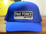 Feel FORCE/ONE&ONLY MESH CAP  ROYALxWHITE