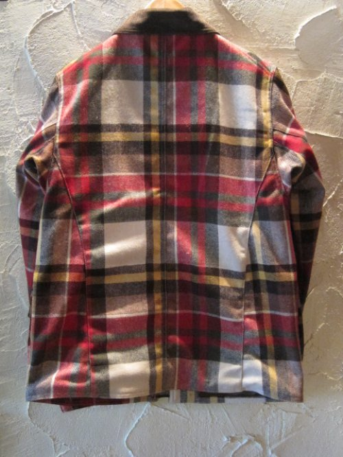 他の写真1: (DEAD STOCK) COREFIGHTER/CHECK MELTON HUNTING JK  BROWN CHECK