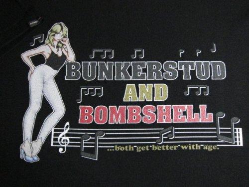 他の写真2: ☆SALE 40%OFF☆ BUNKERSTUD/BOMB SHELL T  BLACK