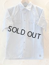 A GOODTIME PRODUCTION/CHAMBLEY WESTERN SHIRTS S/S AGING ICE BLUE