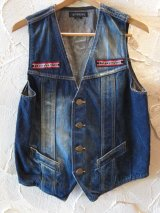 (SALE 40%OFF)SOFTMACHINE/JUDEMENT VEST USED DENIM