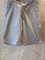 ☆50%OFF☆SEVENTY FOUR/CHECKED SHORTS WHITE