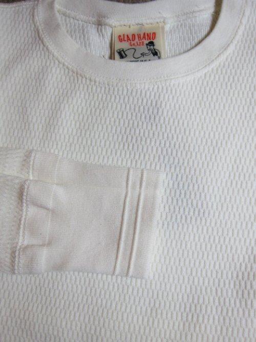 他の写真2: GLAD HAND(グラッドハンド)/STARNDARD WAFFLE L/S T-SHIRTS  WHITE