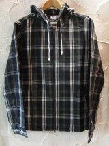 (SALE 40%OFF)  CORISCO/HEAVY NELL CHECK JKT  GREEN