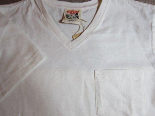 他の写真2: GLAD HAND(グラッドハンド)/STANDARD V NECK T-SHIRTS  WHITE