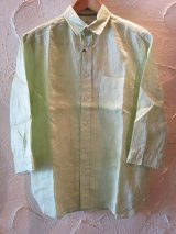 (SALE 40%OFF) PAN HARD/RAMIE 3/4 SHIRTS  GREEN