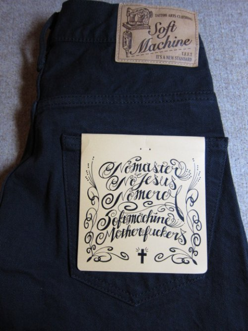 他の写真3: (SALE35%OFF) SOFTMACHINE/LIFE SHORTS  BLK DENIM