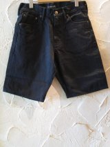 (SALE40%OFF) SOFTMACHINE/LIFE SHORTS  BLK DENIM