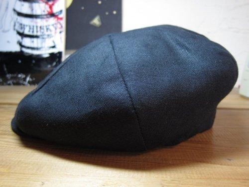 他の写真1: NEW YORK HAT/LINEN BIG APPLE  BLACK