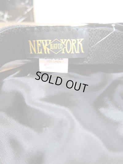 画像4: NEW YORK HAT/LINEN BIG APPLE  BLACK