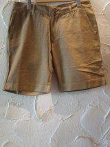 ☆SALE 50%OFF☆JOEY/LINEN SHORTS  KHAKI