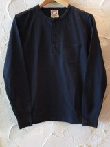 GLAD HAND(グラッドハンド)/STANDARD HENRY POCKET L/S T BLACK