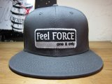 Feel FORCE/ONE&ONLY SNAPBACK  CHARCOAL
