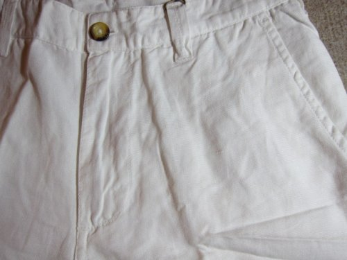 他の写真2: ☆SALE 50%OFF☆ JOEY/COTTON LINEN SHORTS  WHITE