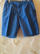 ☆SALE 50%OFF☆ JOEY/COTTON LINEN SHORTS  BLUE
