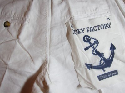 画像4: ☆SALE 50%OFF☆ JOEY/COTTON LINEN SHORTS  WHITE