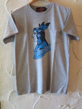 (SALE 40%OFF) SUNNY C SIDER/INDIAN TEE  H.GRAY