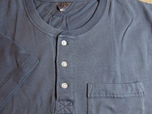 他の写真2: (SALE 50%OFF) JOEY/PIGMENT HENLEY POCKET T  NAVY
