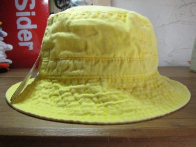画像3: ADAMS HEADWEAR/WASHED BUCKET HAT LEMON