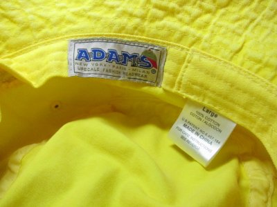 画像4: ADAMS HEADWEAR/WASHED BUCKET HAT LEMON