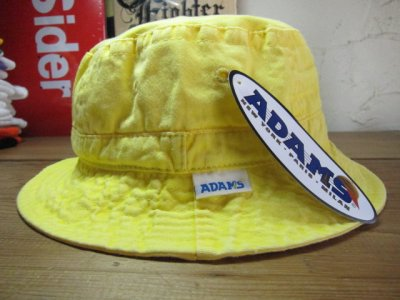 画像2: ADAMS HEADWEAR/WASHED BUCKET HAT LEMON