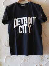 ☆SALE 50%OFF☆ AFI/DETROIT CITY PRINT T LIGHT  BLACK
