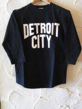 ☆SALE 50%OFF☆ AFI/DETROIT CITY PRINT 3/4 T BLACK
