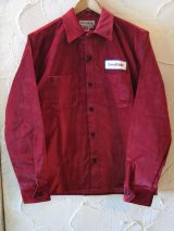 (SALE 35%OFF) SUNNY C SIDER/US PILE SHIRTS  BURGUNDY