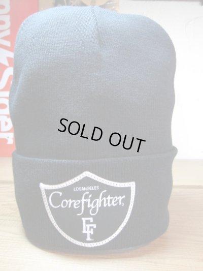 画像1: COREFIGHTER/CFMPD WATCH CAP  BLACK