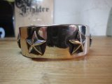 (SALE 20%OFF) ROTTWEILERxFANTASTIC MAN TOKYO/SILVER STAR BANGLE SILVER
