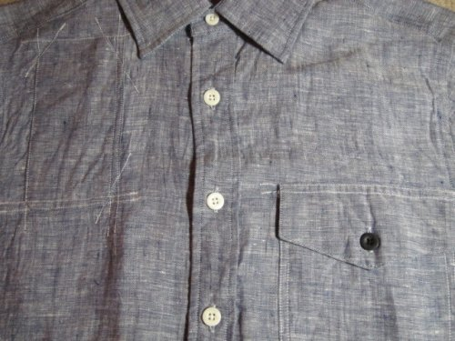 他の写真2: (SALE 35%OFF) GROK LEATHER/HUNTING SS SHIRTS  NAVY
